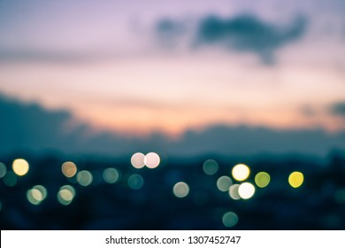 Abstract blur background lighting and sunrise in the morning