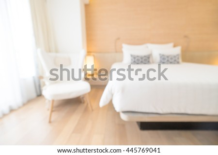 Abstract blur beautiful luxury bedroom decoration interior for background be889d75a