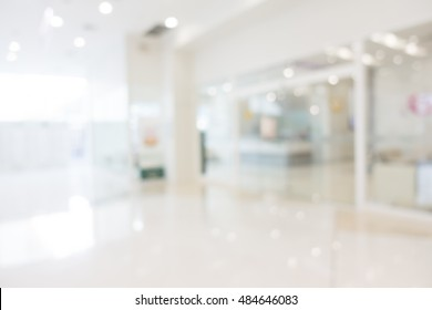 Abstract blur beautiful luxury hospital and clinic interior for background