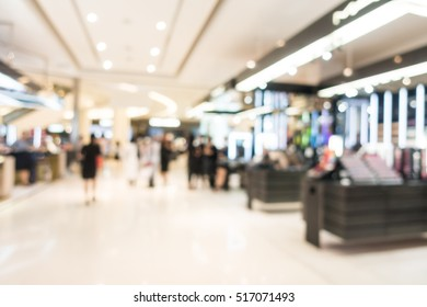 18b4ee343a Abstract blur beautiful luxury shopping mall and retails store interior for  background