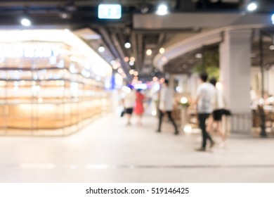 Abstract blur beautiful luxury shopping mall and retails store interior for background