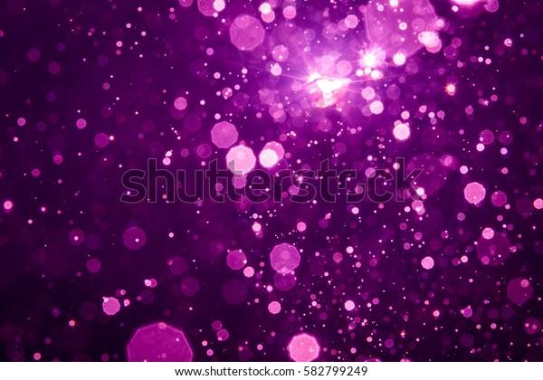 Abstract blur black bokeh background