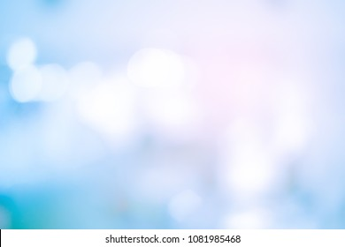 abstract blur blue gradient color background with orange light filter effect