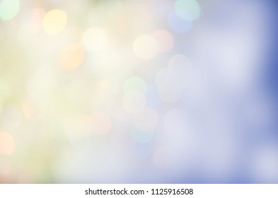 Abstract blur blue sky background. Blue bokeh abstract background. Nature background concept. soft pastel color.  Fresh clean sky bokeh background.