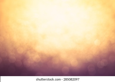 Abstract Blur of blurred lights with bokeh effect Backgrounds design