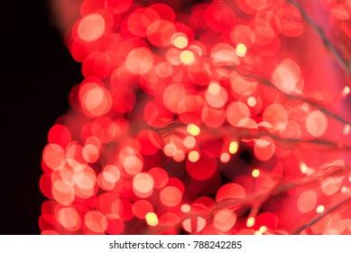abstract blur bokeh valentine background.