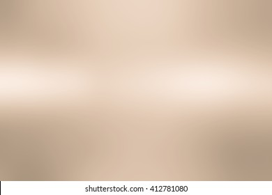 abstract blur bronze metallic plain surface background concept for design and decorate.