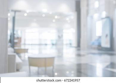 Abstract blur clinic or hospital interior  on the background of  hospital corridor , mood and tone  beautiful luxury
