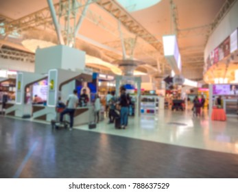 Abstract blur department store with shopping mall interior for background.abstract blur in supermarket for background.Abstract blur beautiful luxury shopping mall and retails store interior.