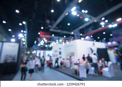 Abstract blur Expo,Large room for the event,Exhibition