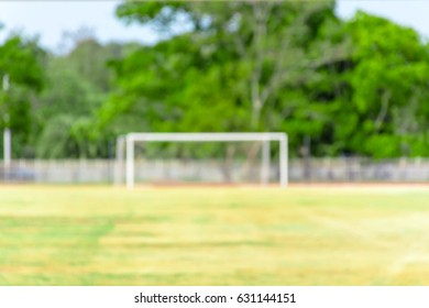 abstract blur football field for backgroound