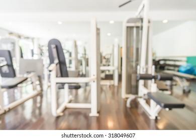 Gym Background Blur Images, Stock Photos & Vectors