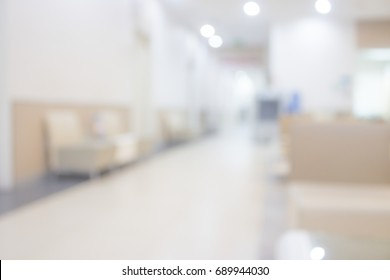 Abstract Blur  hospital or clinic interior for backgrounds .