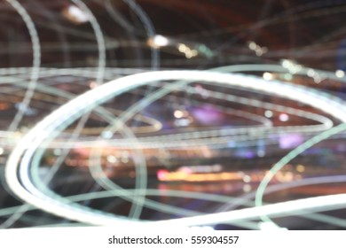 Abstract blur lights for design background or backdrop.