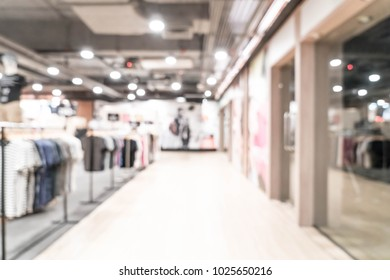 abstract blur luxury shopping mall and retail store for background - vintage effect filter