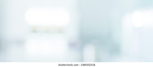 abstract blur modern inside loft apartment for background