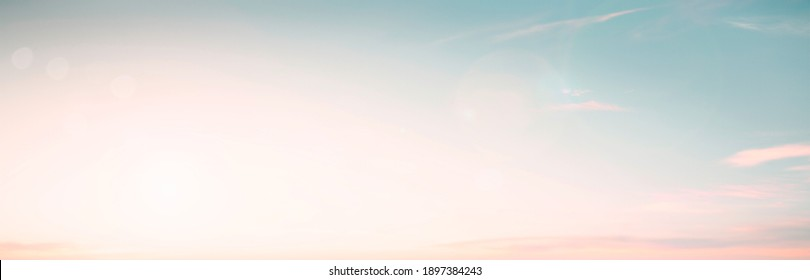Abstract blur morning nature sky bright bokeh texture background concept happy beach horizon landscape, Clean sunset summer light, Gradient pastel color of mint green teal, health medical relax. - Shutterstock ID 1897384243