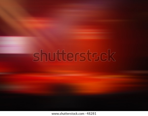 Abstract blur of Night Club lighting