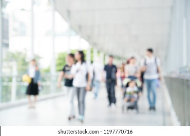 Abstract Blur Office Background of Hospital,Airport,Building, ideal for Business Presentation