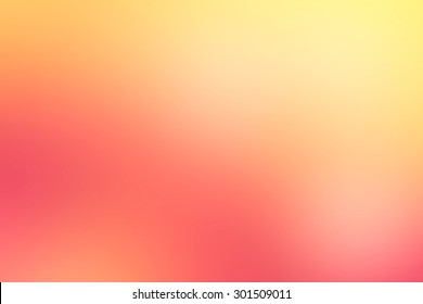 Abstract blur orange and pink nature background