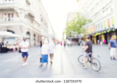 abstract blur people background