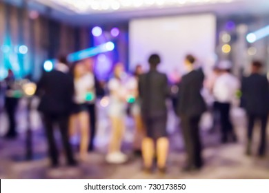 Abstract blur people in night club or entertainment bar and restaurant, party lifestyle concept