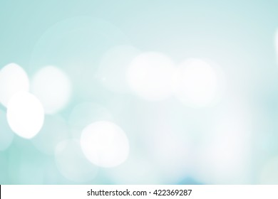 abstract blur soft teal color background concept for design concept.