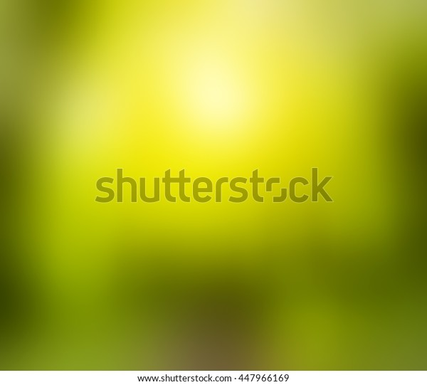 Abstract blured green background