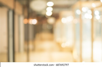 Abstract blurred background with bokeh lights