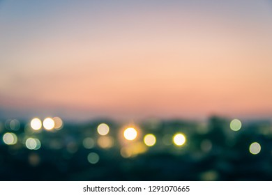 Abstract blurred background with lighting and sunrise in the morning