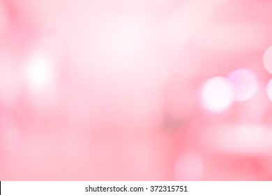 abstract blurred beautiful bokeh pink background for design concept.