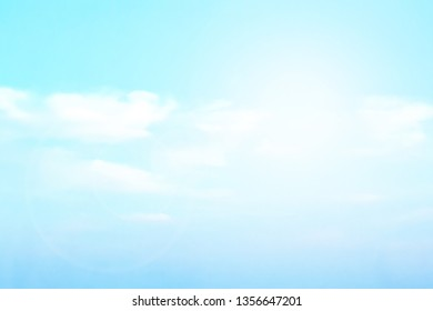 abstract blurred beautiful natural background lens ray flare flash light.