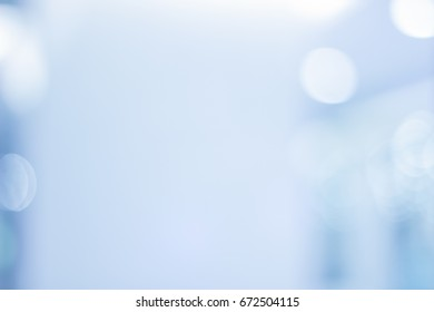 Abstract Blurred Bokeh medical Background for design background of Hospital or clinic