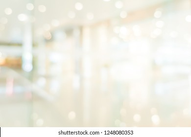 abstract blurred cleaning brightening of modern interior background for mockup design as presentation ,slide show , banner ads