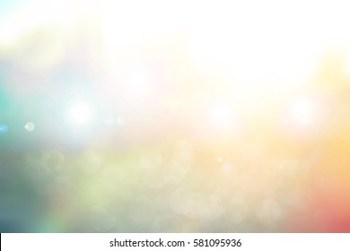 Abstract blurred color nature background