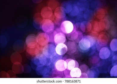 Abstract blurred colorful gradient bokeh light defocused background