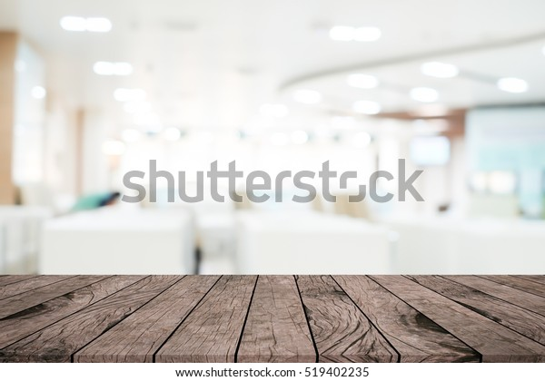 Abstract Blurred Interior Modern Office Background Stock Photo
