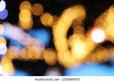Abstract blurred of light for background.
