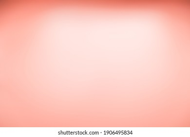 Abstract blurred light pink color background. Paper textured on sweet rose soft pastel for love Valentine's Day concept. Card wallpaper peach pattern fresh bright. Festive backdrop for your project.