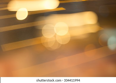Abstract blurred lmage and bokeh for background