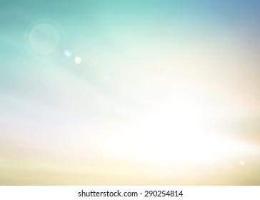 Abstract blurred sand on beautiful beach background.