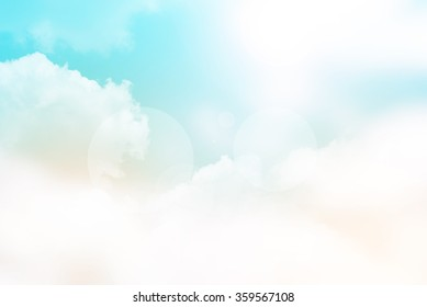 Abstract blurred soft background, sky textured background, Blurred nature abstract background, Vintage style