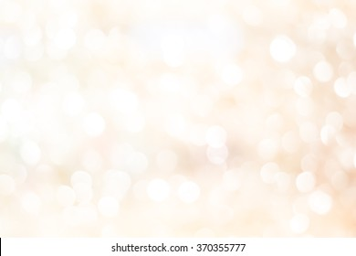 abstract blurred soft cream background with circle lantern for design concept.