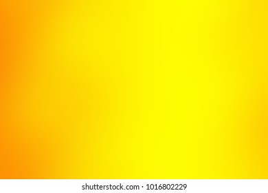 Abstract blurred yellow background