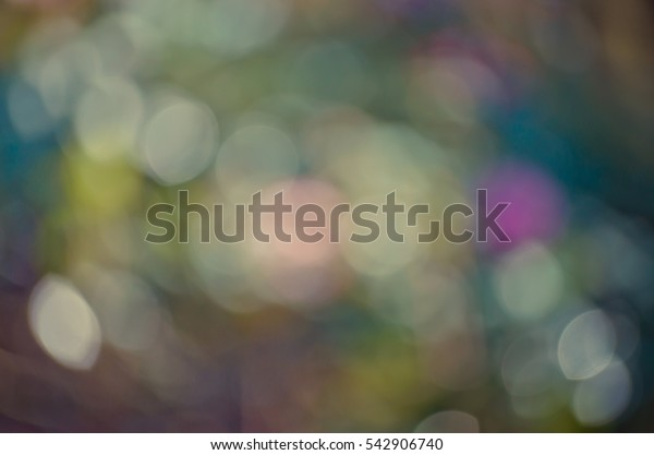 Abstract in blurry background for bokeh