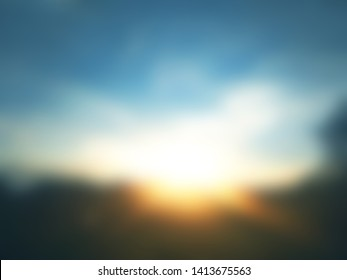 Abstract blurry background. Minimalistic wallpapers. Natural concept
