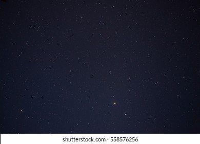 Abstract blurry background moving of stars in the sky on night time.