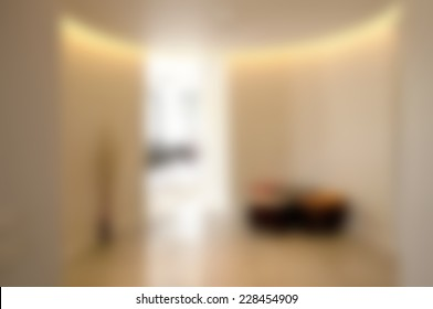 Abstract blurry office background