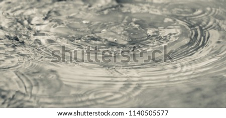 Abstract blurry waters of a pond isolated unique photograph