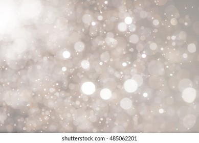 Abstract bokeh background. Christmas bokeh lights defocused abstract background.